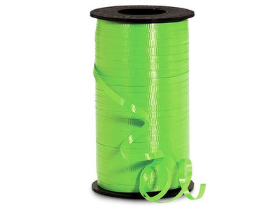Apple Green Curling Ribbon 500 Yard Roll 3/16 Inch Wide. - artcovecrafts.com