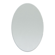 6 x 8 Inch Glass Craft Oval Mirrors Bulk 12 Pieces Mirror Mosaic Tiles - artcovecrafts.com
