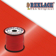 Red Plastic Rexlace 100 Yard Roll - artcovecrafts.com