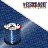 Navy Plastic Rexlace 100 Yard Roll - artcovecrafts.com