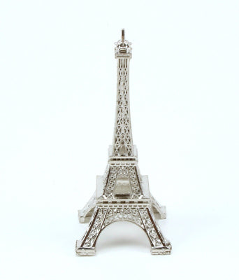 6 inch Silver Small Eiffel Tower Figurine 1 Piece - artcovecrafts.com