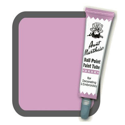 Lavender Aunt Martha's Ballpoint Embroidery Fabric Paint Tube Pens 1 oz - artcovecrafts.com
