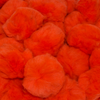 2 Inch Orange Craft Pom Poms 25 Pieces - artcovecrafts.com
