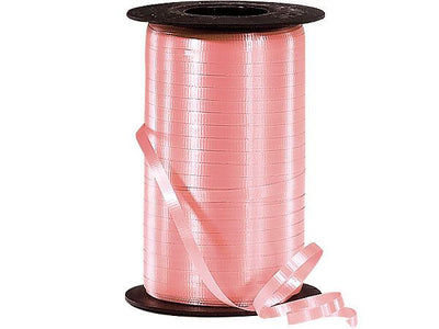 Peach Curling Ribbon 500 Yard Roll 3/16 Inch Wide. - artcovecrafts.com