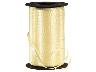 Yellow Curling Ribbon 500 Yard Roll 3/16 Inch Wide. - artcovecrafts.com