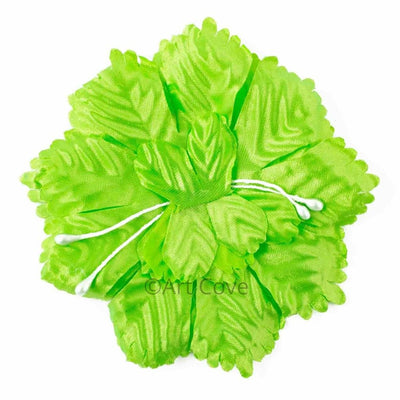 Apple Green Capia Flowers Flat Carnation Capia Base for Corsages 12 Pieces - artcovecrafts.com