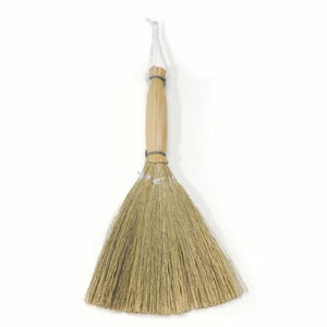 6.5 Inch Baguio Reed Mini Craft Brooms 12 Pieces - artcovecrafts.com
