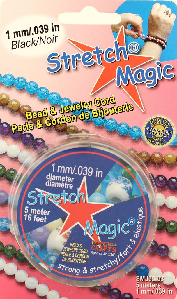 Pepperell 1.5/mm Stretch Magic Bead And Jewelry Cord Trasparente 4/m