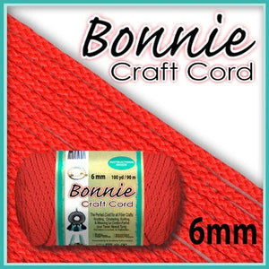 6mm Coral Macrame Cord 100 Yards
