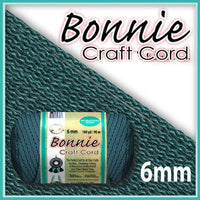 6mm Denium Blue Macrame Cord 100 Yards