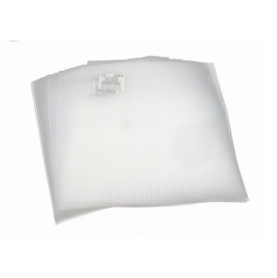 7 Mesh Count Clear Plastic Canvas Bulk - 25 Sheets- 10.5 x 13.5 Inch - artcovecrafts.com