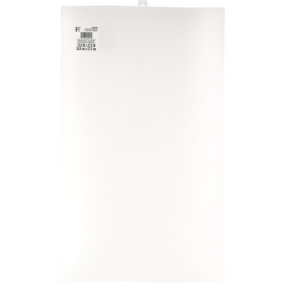 7 Mesh Count Clear Plastic Canvas Ultra Stiff Artist Sheet 13-5/8 x 22-5/8 1 Sheet - artcovecrafts.com
