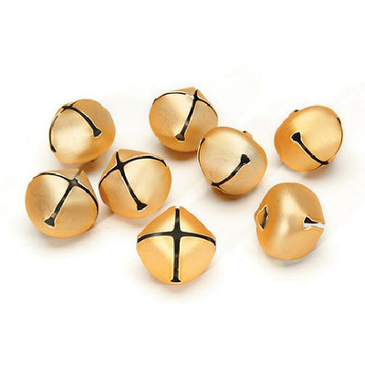 Darice 25mm Gold Bells 8 Pieces 1148-21 - artcovecrafts.com