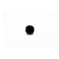 0.75 inch Brown Mini Craft Pom Poms 100 Pieces - artcovecrafts.com