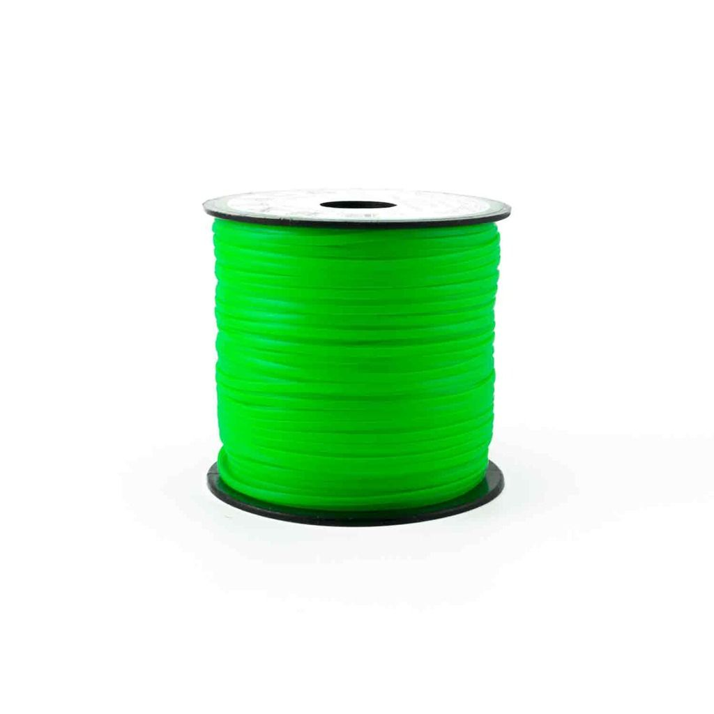 Neon Green Plastic Craft Lace Lanyard Gimp String Bulk 100 Yard Roll