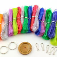Rexlace Variety Value Pack  Clear Colors Kit 450 Feet RX152 - artcovecrafts.com