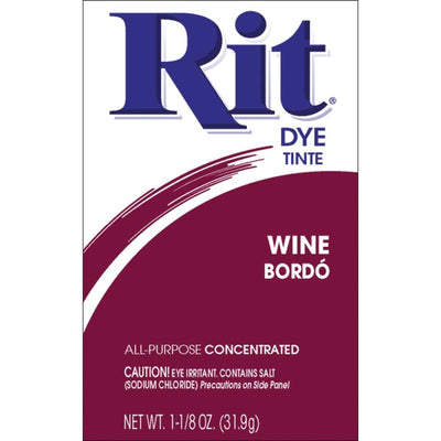 Rit Dye Powder Wine 1-1/8 oz
