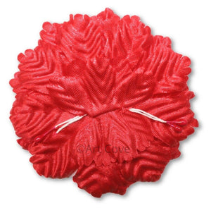 Red Capia Flowers Bulk Wholesale Flat Carnation Base 144 Pieces - artcovecrafts.com