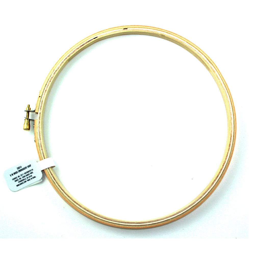 "10"" Darice Wood Embroidery Hoop 1 Piece 39015 - artcovecrafts.com"