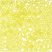 8mm Faceted Plastic Beads Transparent Yellow Bulk 1,000 Pieces - artcovecrafts.com
