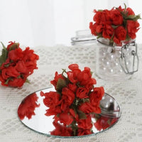 Red Mini Rose Buds 144 Pieces - artcovecrafts.com