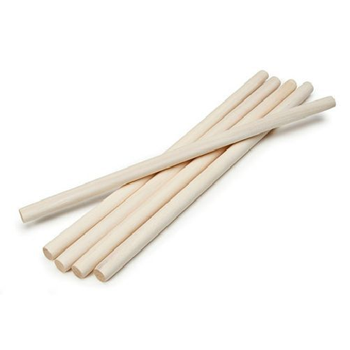 Wooden Dowel Rods 0.5 x 12 inches 5 pieces