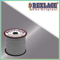 Grey Plastic Rexlace 100 Yard Roll - artcovecrafts.com
