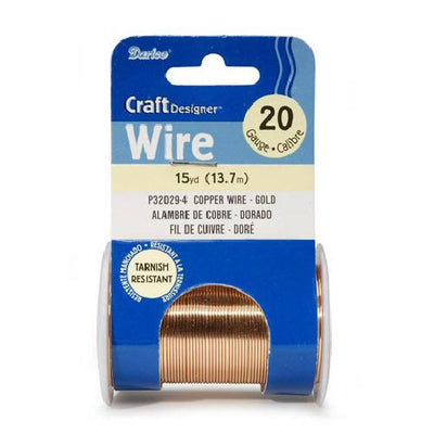 20 Gauge Gold Ming Wire 15 yards