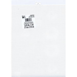 14 Mesh Count Clear Plastic Canvas Bulk 11 x 8.5 Inch 12 Sheets - artcovecrafts.com
