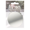 "2.5"" Darice Round Mirrors 3 Pieces 1633-83 - artcovecrafts.com"