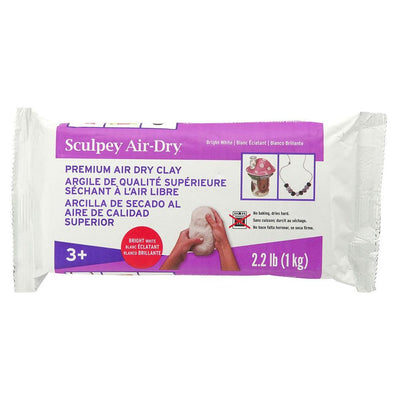 Sculpey Polyform Model Air - White Air Dry Clay 2.25 lbs.
