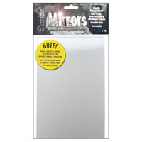 6 x 9 inches - Darice Mirror - Plastic - Rectangle - 1614-09 - artcovecrafts.com