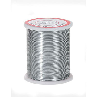 28 Gauge Silver Darice Beading & Jewelry Wire 40 yards 32028-3 - artcovecrafts.com