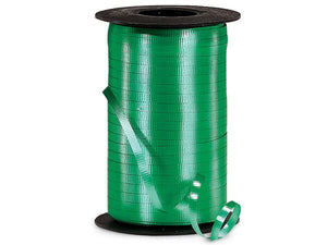 Emerald Green Curling Ribbon 500 Yard Roll 3/16 Inch Wide. - artcovecrafts.com