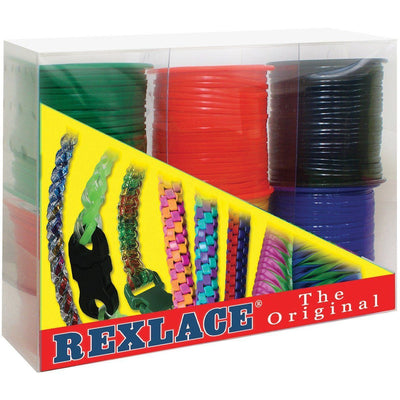 Pepperell Plastic Rexlace 6 Primary Colors - artcovecrafts.com