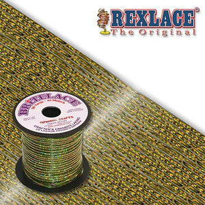 Smoke Holographic Britelace Rexlace 50 Yards - artcovecrafts.com