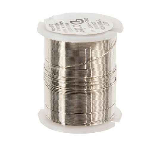 26 Gauge Darice Silver Beading Wire 22 yards