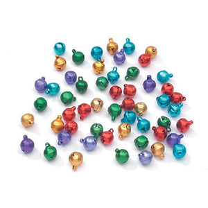 10mm Darice Bells 80 Pieces 1996-99 - artcovecrafts.com