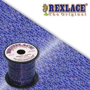 Blue Holographic Britelace Rexlace 50 Yards - artcovecrafts.com