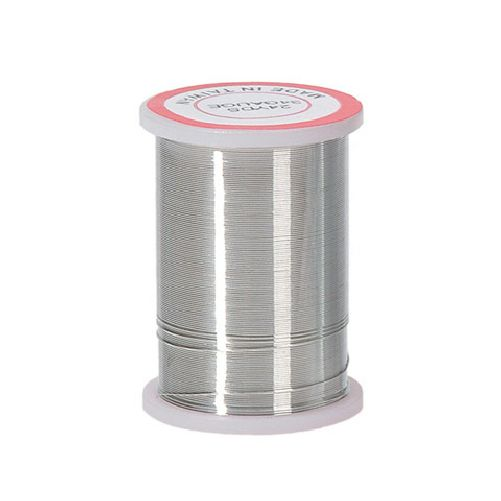 34 Gauge Darice Silver Beading Wire 24 yards