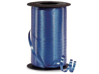 Royal Blue Curling Ribbon 500 Yard Roll 3/16 Inch Wide. - artcovecrafts.com
