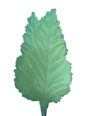 3.5 inch Mint Artificial Leaves with White Stems 144 Pieces