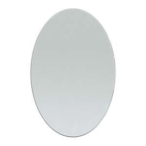 4 x 6 inch Oval Craft Mirror 1 Piece Mosaic Tiles - artcovecrafts.com
