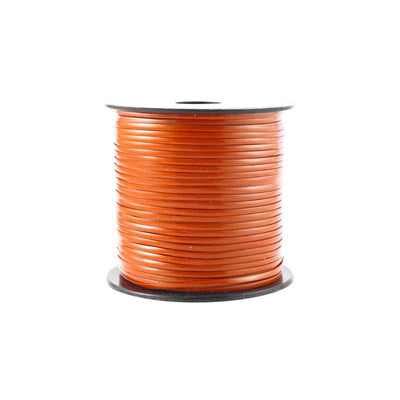 Orange Plastic Craft Lace Lanyard Gimp String Bulk 100 Yard Roll