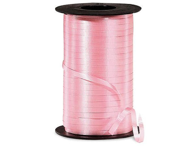 Pink Curling Ribbon 500 Yard Roll 3/16 Inch Wide. - artcovecrafts.com