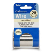 28 Gauge Darice Silver Craft Wire 40 yards