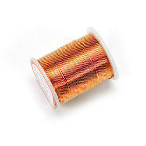 24 Gauge Copper Beading & Jewelry Wire 17 yards