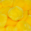 2.5 Inch Yellow Large Craft Pom Poms  - artcovecrafts.com