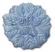 Light Blue Capia Flowers Bulk Wholesale Flat Carnation Base 144 Pieces - artcovecrafts.com