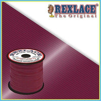 Maroon Plastic Rexlace 100 Yard Roll - artcovecrafts.com